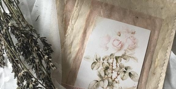 Karte-Bild zum hängen Rosen- Picture