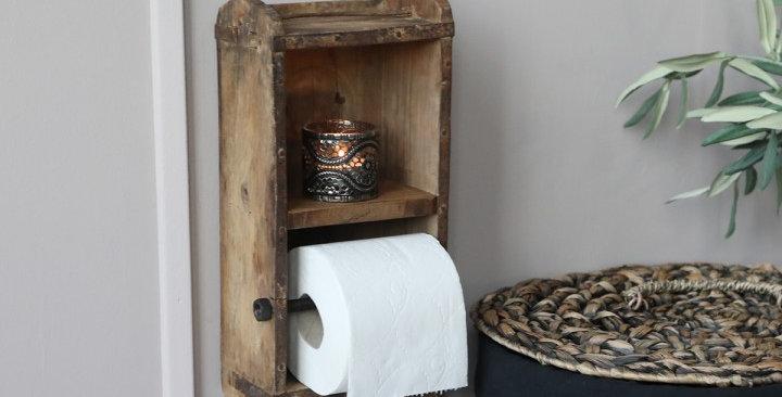 Toilettenpapierhalter aus Ziegelform- Rollholder
