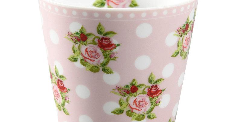 Tasse mit Rosen und Punkten -Mug Roses