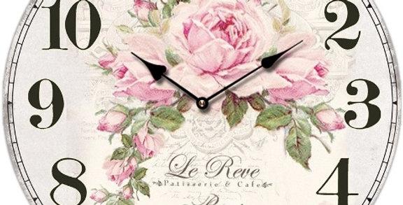 Uhr Le Reve Rosen - clock