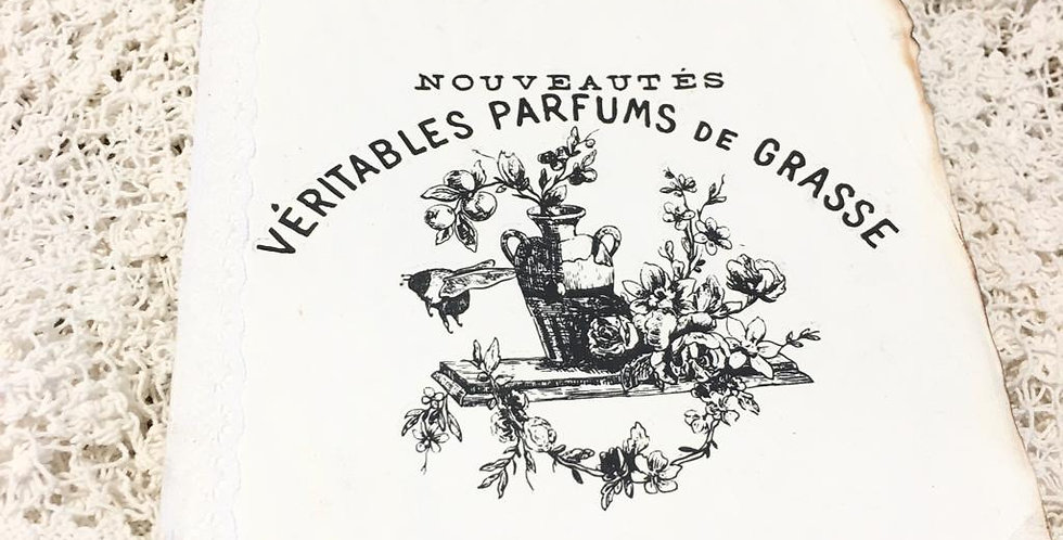 Notizbuch Veritables Parfums