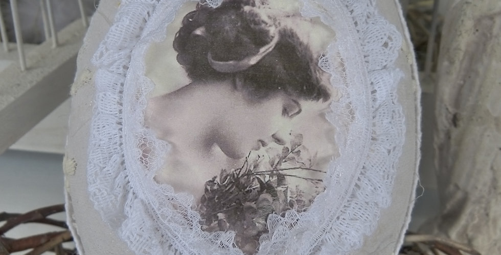 Oster Ei Blumen Lady- Easter Egg Flower lady