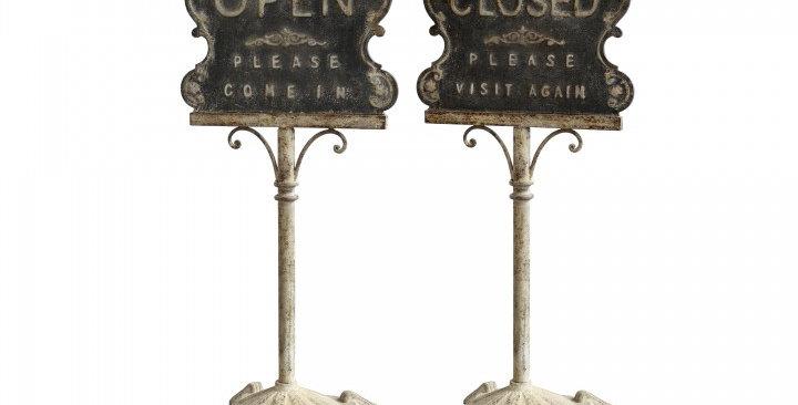 Schild offen/geschlossen -sign