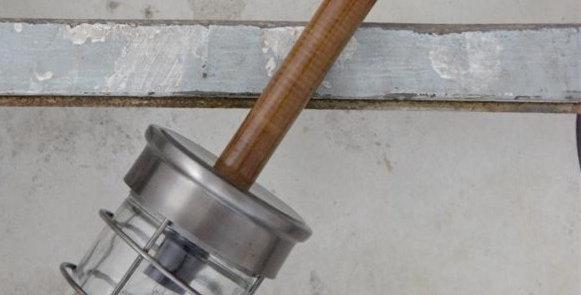 Lampe mit Metal Gitter -lampwith metal grille