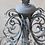 Thumbnail: Kronleuchter Antik Grau - Chandelier