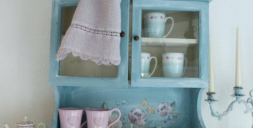 Wand Möbel Watercolor Bloom - Wall furniture