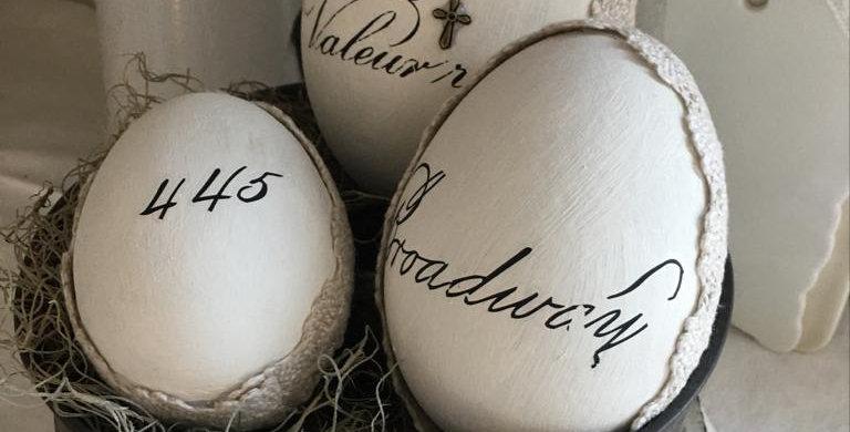 Oster Eier Set 369 . Easter eggs