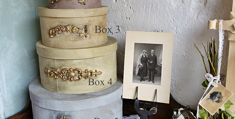 Hutschachtel Boehme - Hat boxes