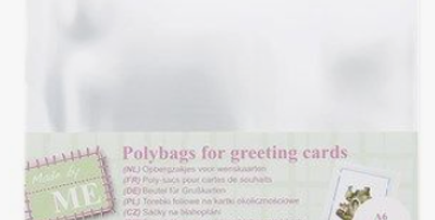 Beutel für Grusskarten -Polybags for greeting cards