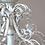 Thumbnail: Kronleuchter Antik weiss- Chandelier