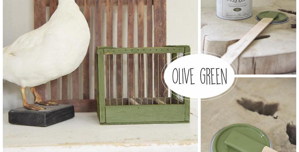 Vintage Paint Olive Green