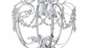 Kronleuchter Antik weiss- Chandelier
