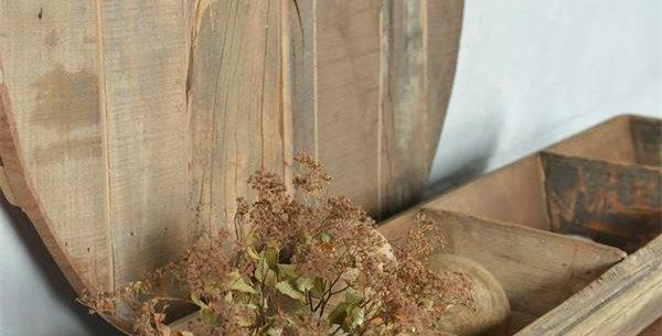 Holztablett- Recyceltes Holz-Wooden tray