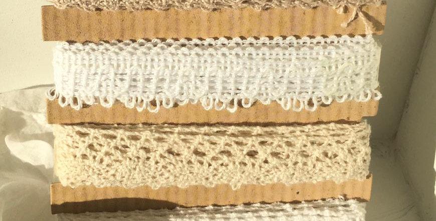 Spitzenband 5 Meter- Laces