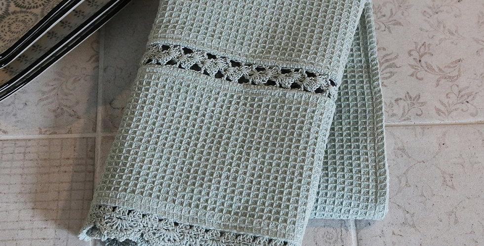 Geschirrtuchtuch grün - tea towel