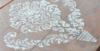 Schablone - Stencil - Filigran motif 2