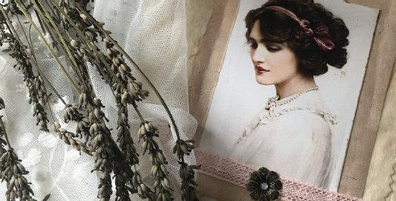 Karte-Bild zum hängen rose- Picture