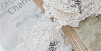 Spitzeblume mit Broch - lace flower