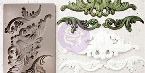 Silikonform- Thorton medaillon - Silikon Mould.