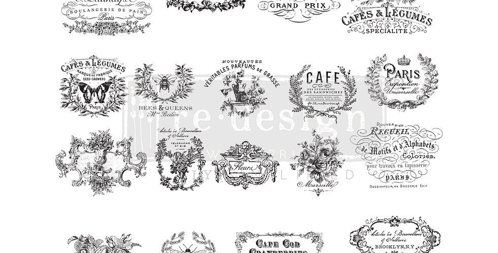 Stempel I see Paris -Stamps