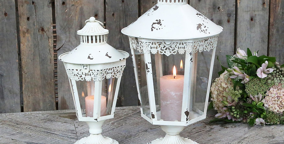 Lanterne antike cream .lantern