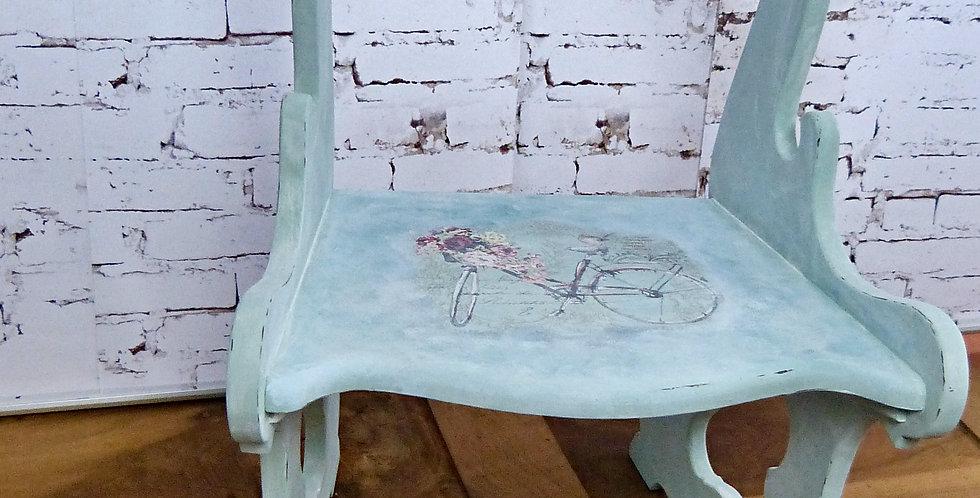 Stuhl Türkis-grün -Chair