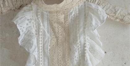 Kragen vintage Stil- Collar