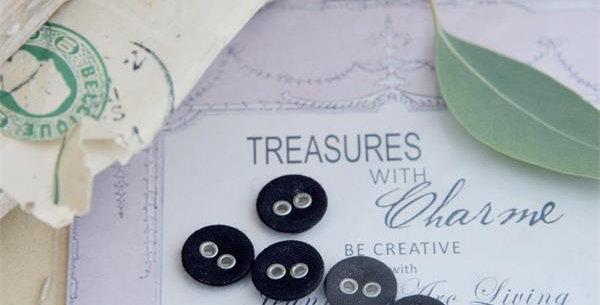 Knöpfe schwarz -buttons
