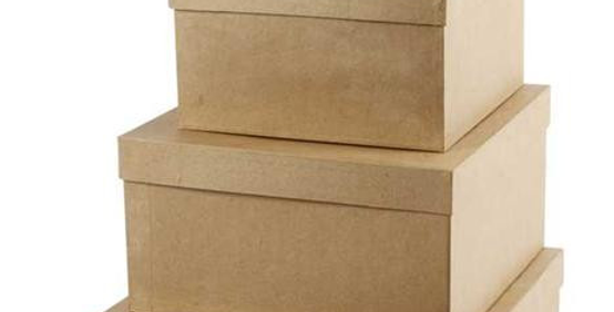 Quadratische Hutschachtel Set. square boxes