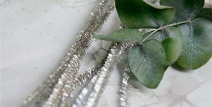 Pfeifenreiniger - Silber -