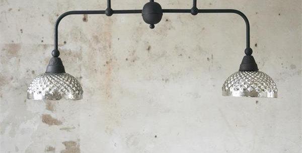 Hänge Lampe Mercury Glas - Hanging Lamp