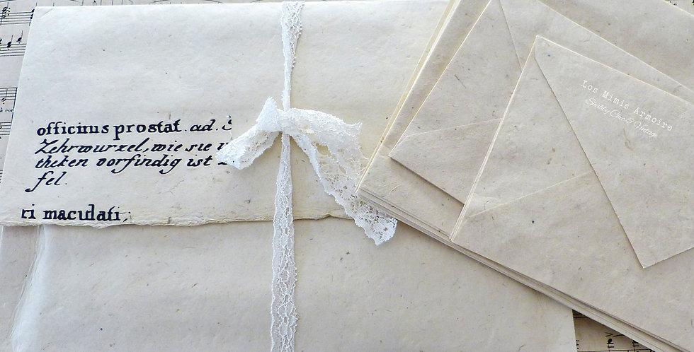 Umschlag mit Briefpapier t1 -Envelop with Stationary