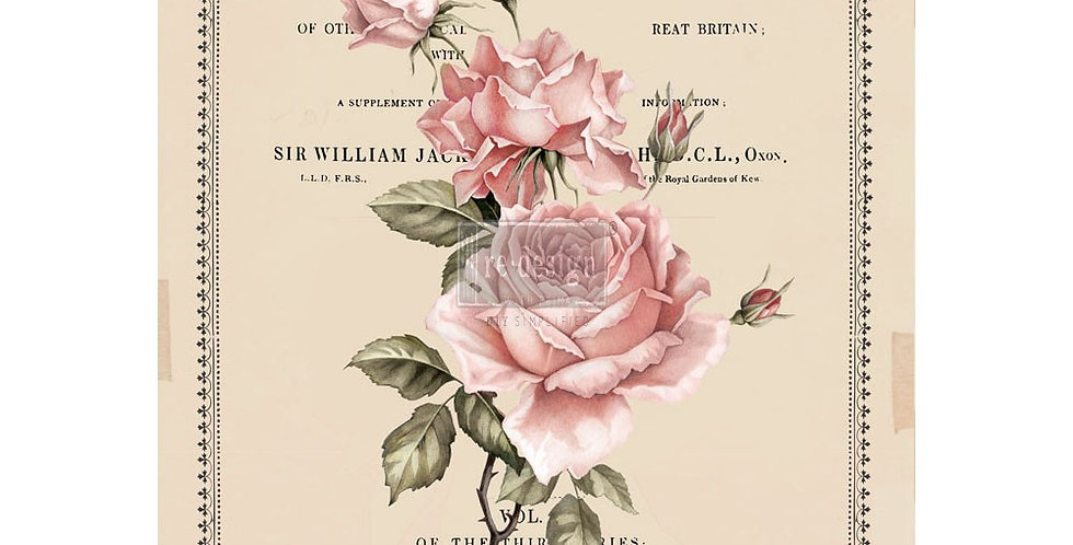 Beautiful Botanist Decor Transfers -