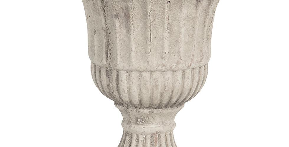 Blumentopf C-grau -flowerpot