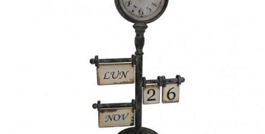 Uhr Kalender - Clock calender