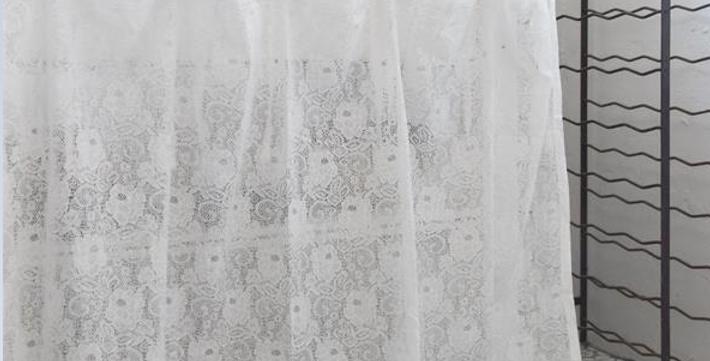 Vorhang Spitze kurz 85cmx140cm-curtain long