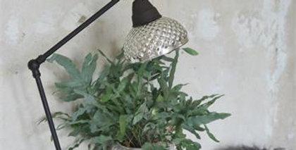 Tischlampe-Mercury able lamp - Adjustable - Mercury glass