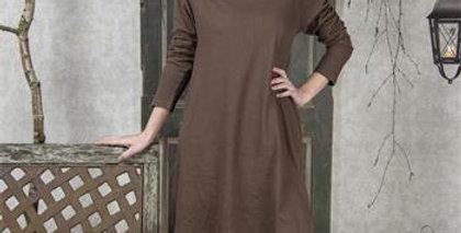 Kleid Cosy Living dunkel brown- Dress dark brown