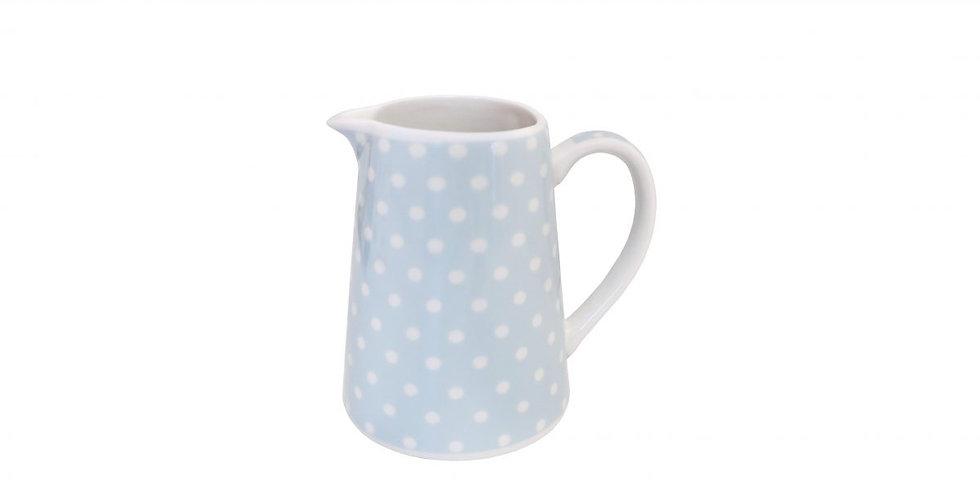 Milchkännchen pastellblau -milk jug
