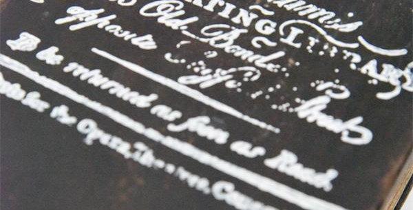 Stempel Text Hookham´s - Stamp