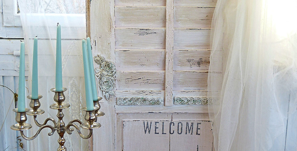 Fenster Laden Welcome -Shutter