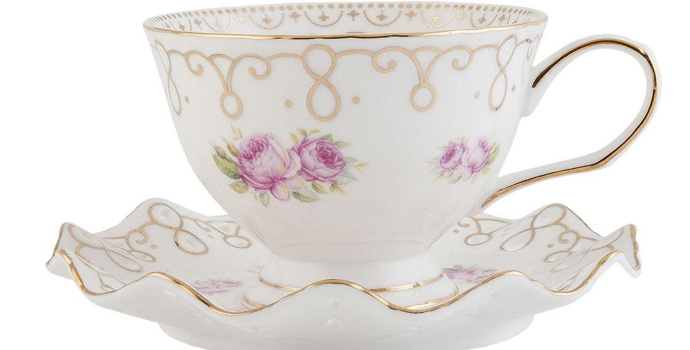 Tasse & Teller typcurv-Cup and saucer