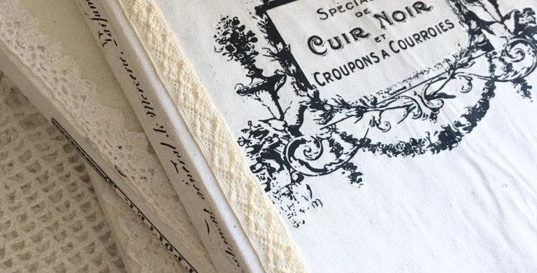 Notizbuch mit abgenutzten Kanten T6-Notebook