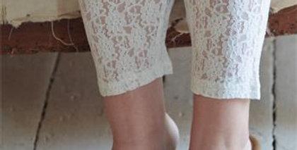Leggings Cozy Bohemian - Cream
