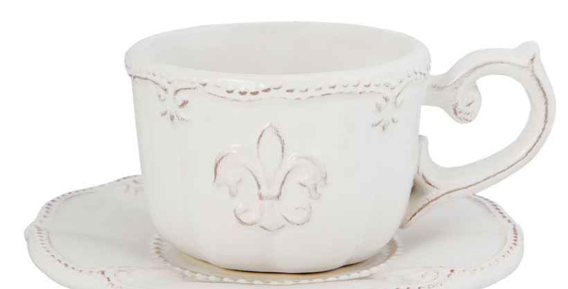 Tasse & Teller lilly -Cup and saucer