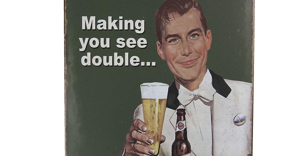 Schild Beer -sign