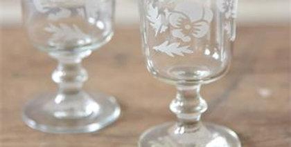 Wine Glas - Heartsease - Wine glass-Medium