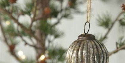 Antikes Finish Weihnachtskugel type 1- Xms ball