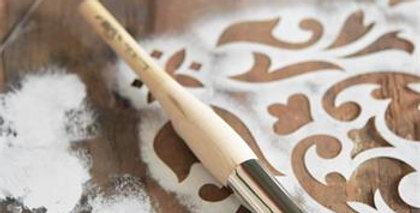 Schablone Pinsel Professional 2,5cm- Stencil brush professional