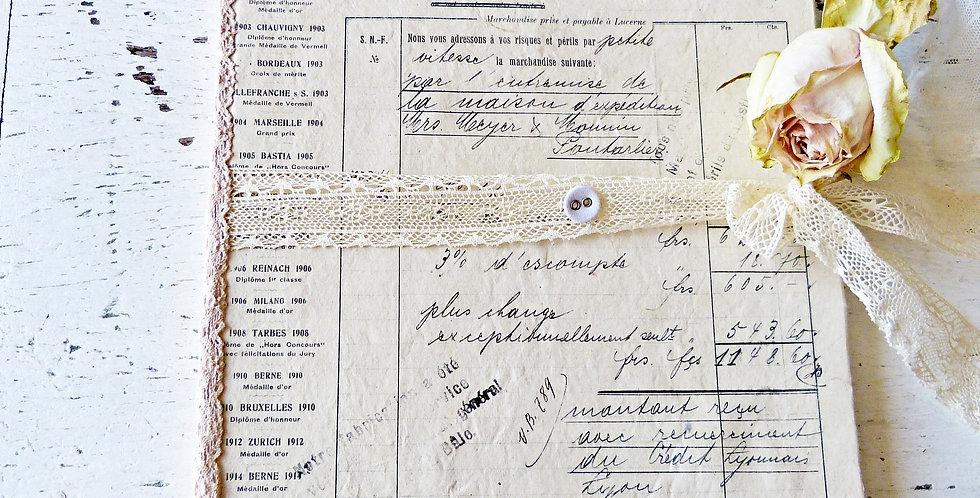 Notizbuch Fabrique Suisse -notebook